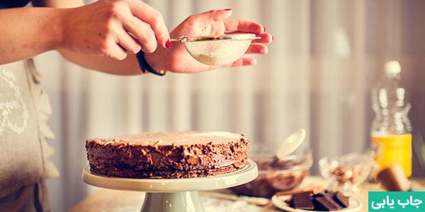 کار در منزل پخت شیرینی و کیک